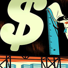 Financial illustration by Bill Butcher