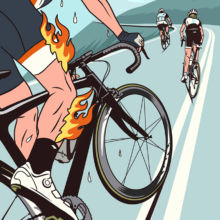 Bicycling Magazine (US) - I have to go up that ?