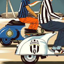 FT How To Spend It - Tips for the fashionable Juventus vs Milan match by Bill Butcher